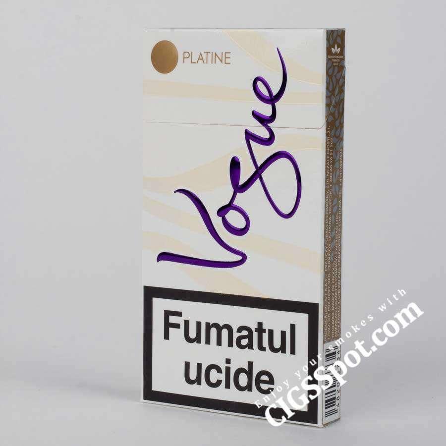Buy Vogue Platine cigarettes online - Vogue cigarettes - Cigsspot