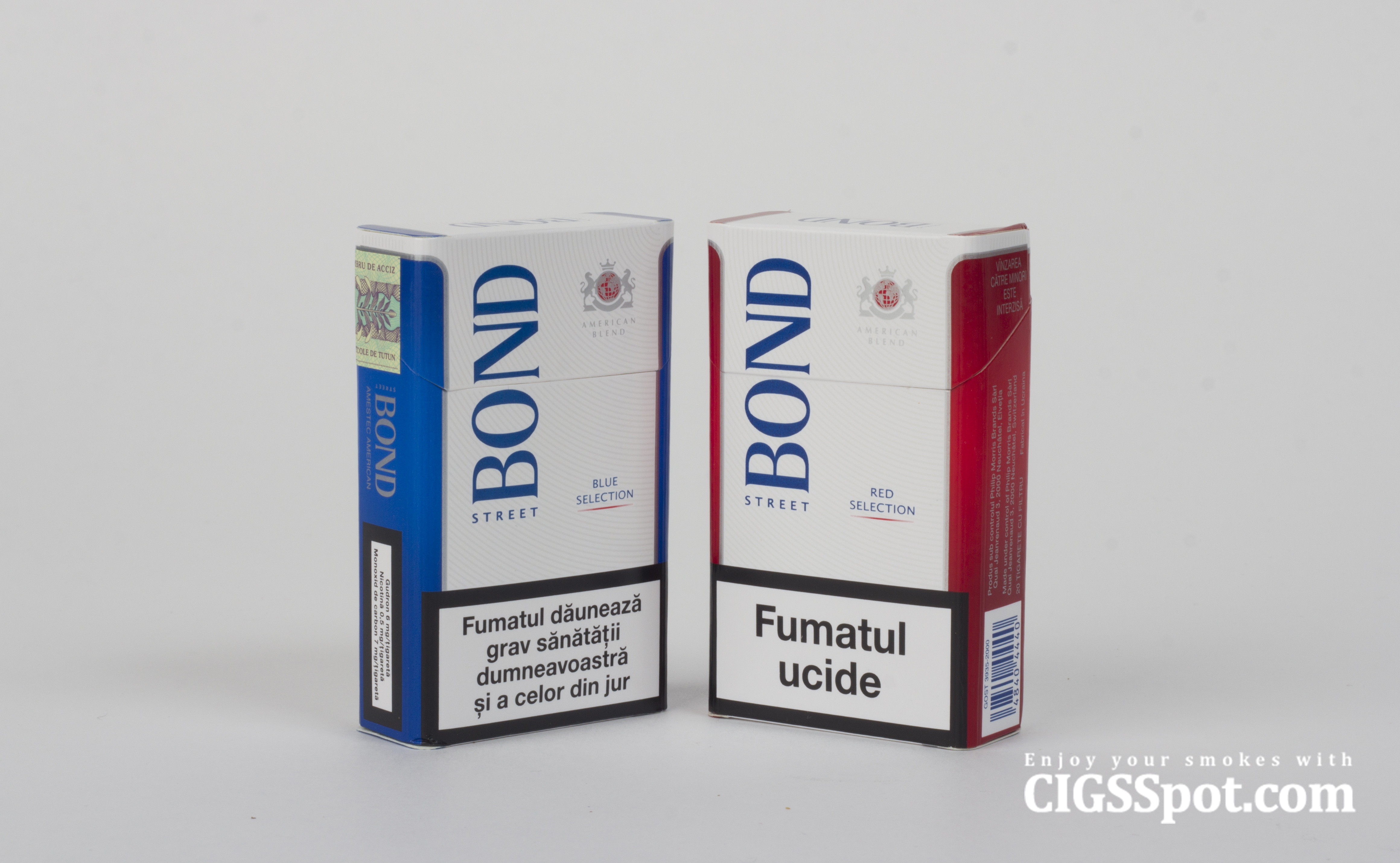 Bond Cigarettes