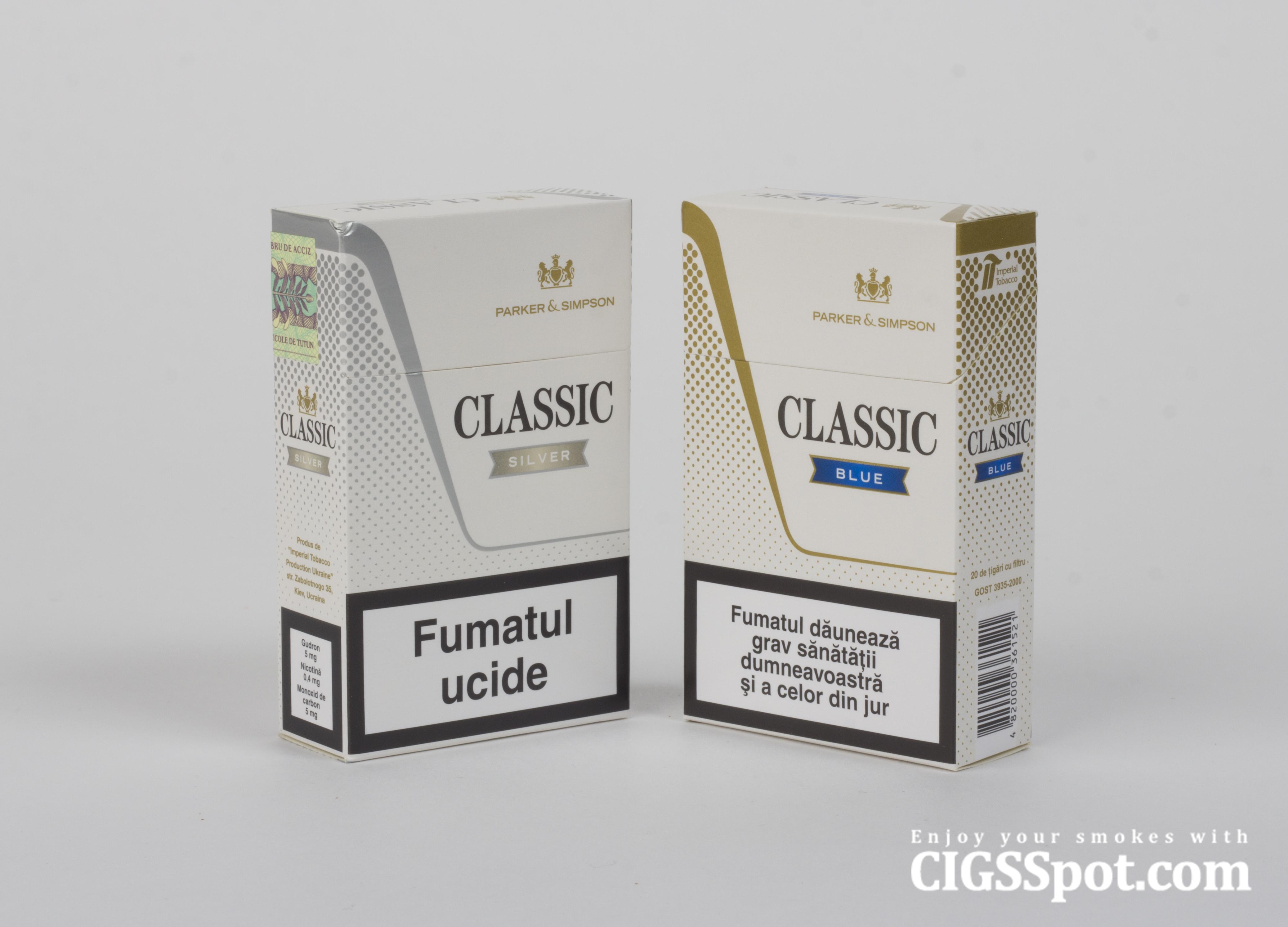 Classic Cigarettes