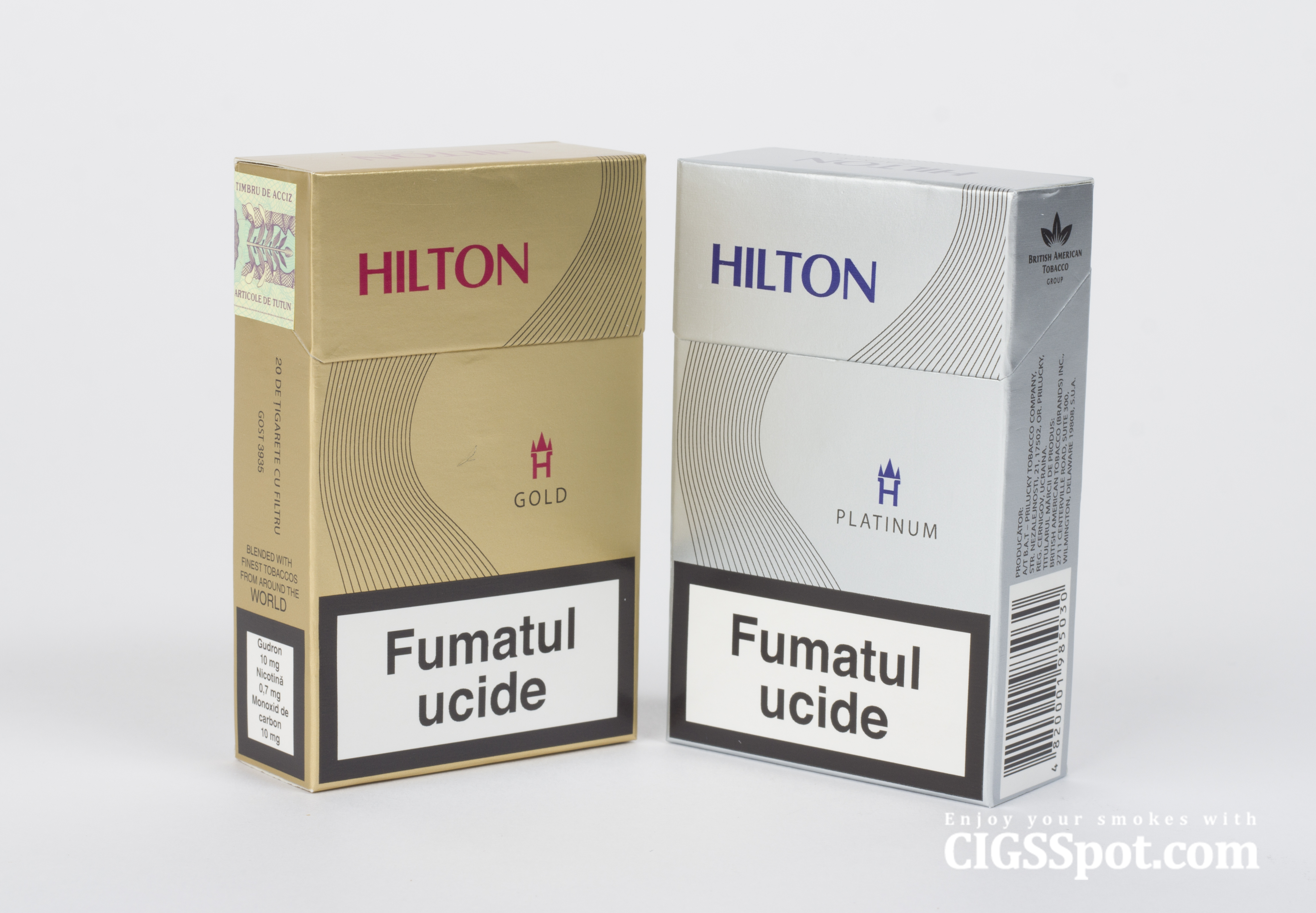 Hilton Cigarettes