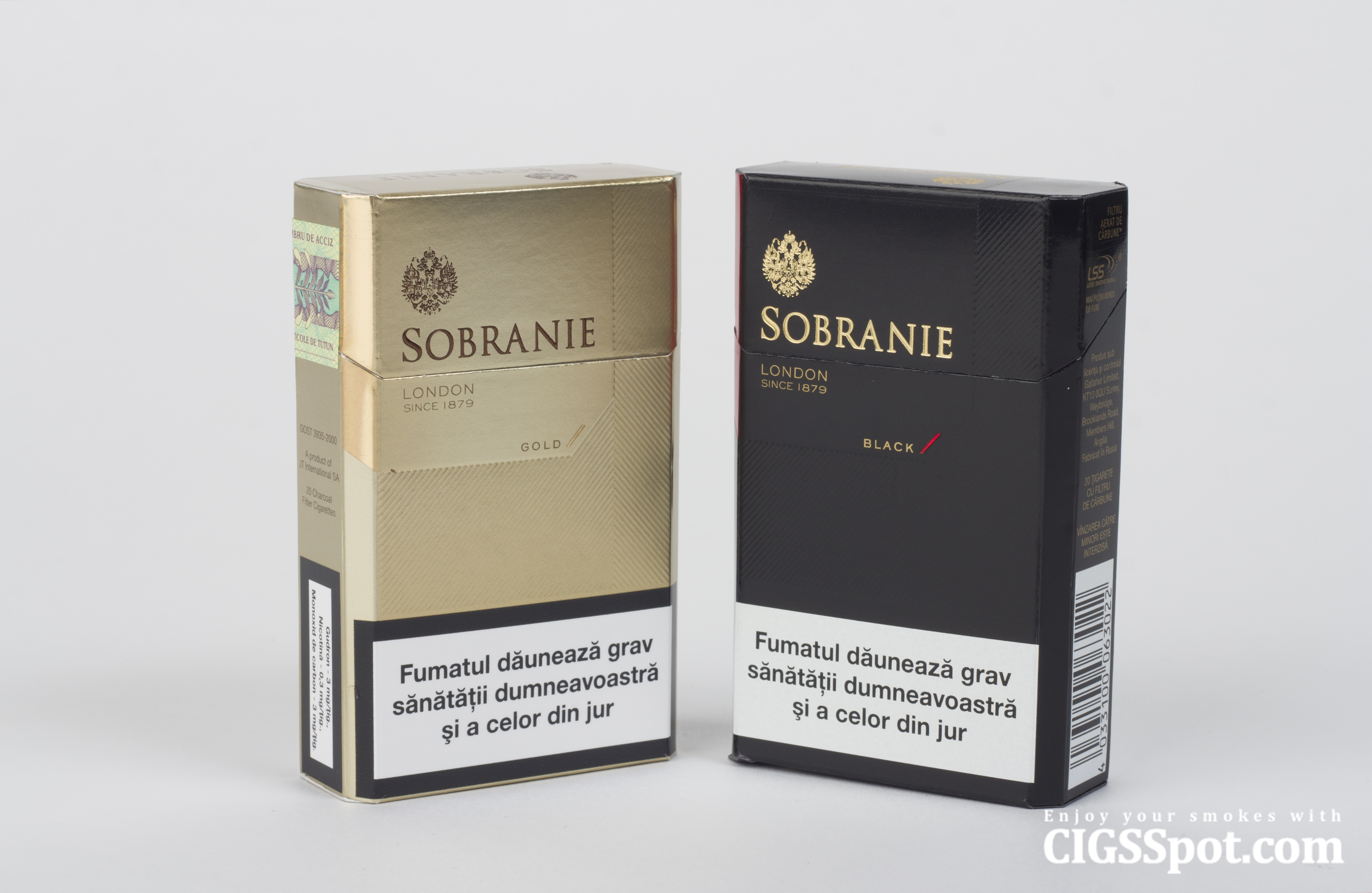 Sobranie cigarettes. History and Review. - Cigsspot