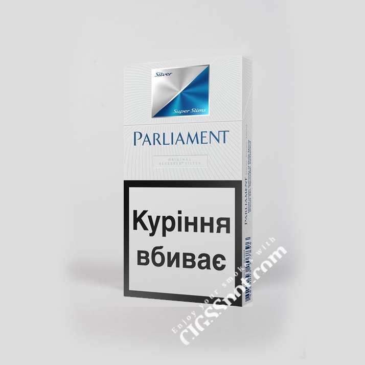 Buy Parliament Silver Super Slims cigarettes online   Cigsspot.com
